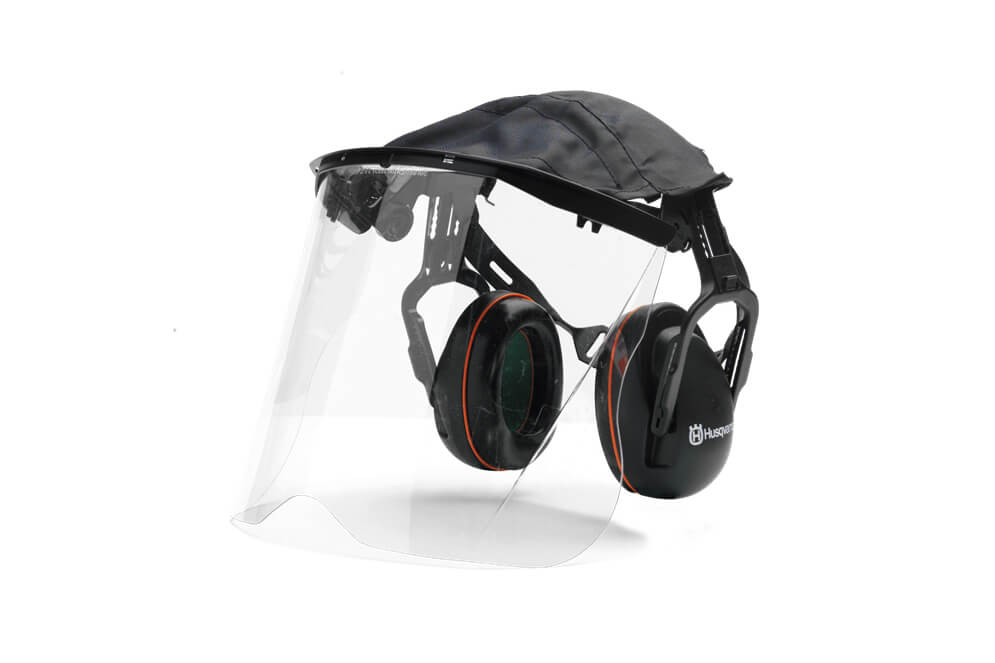 Premium Earmuff with Plexi Visor