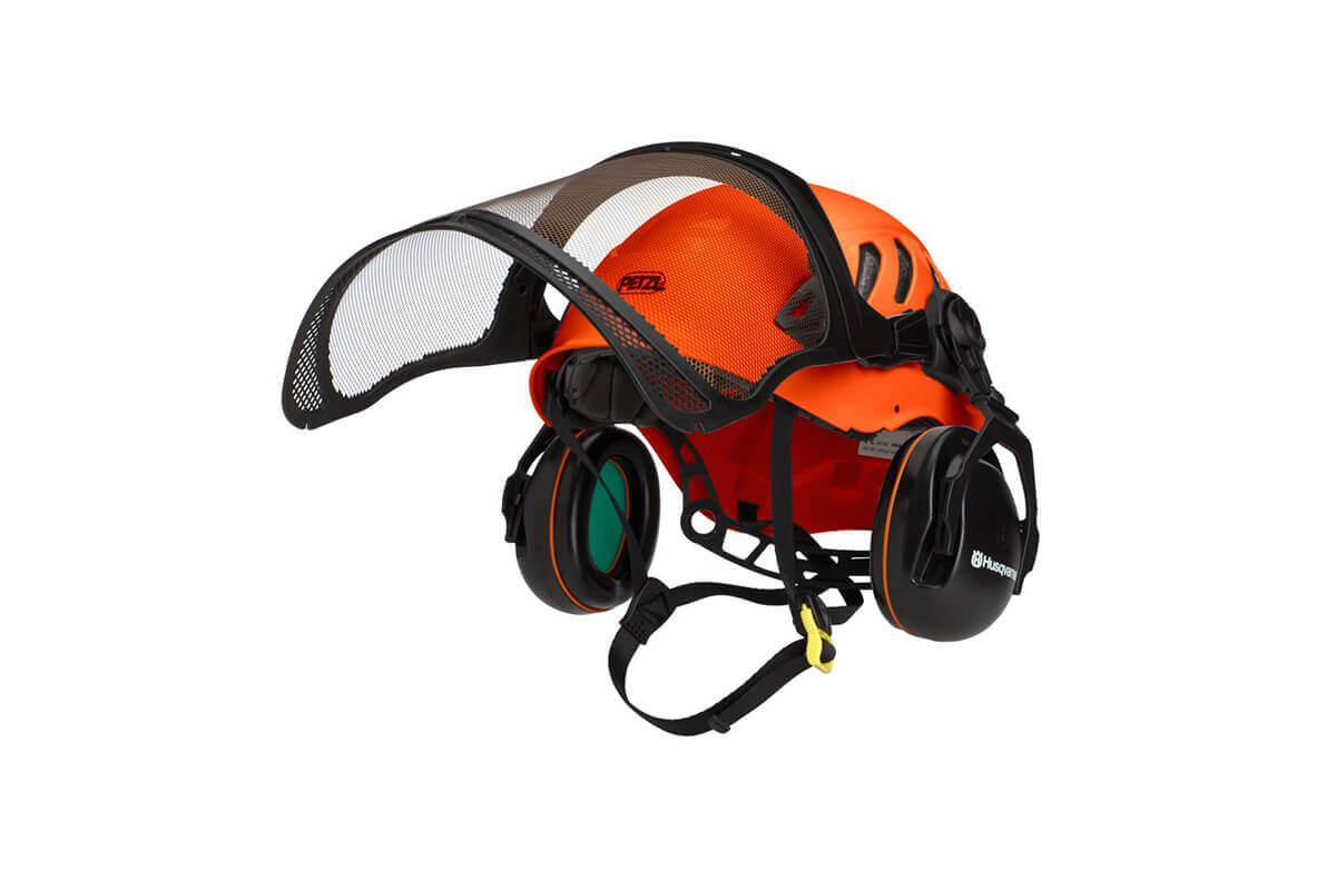 Aborist Helmet Kit (incl. Helmet, Earmuff, Mesh Visor)